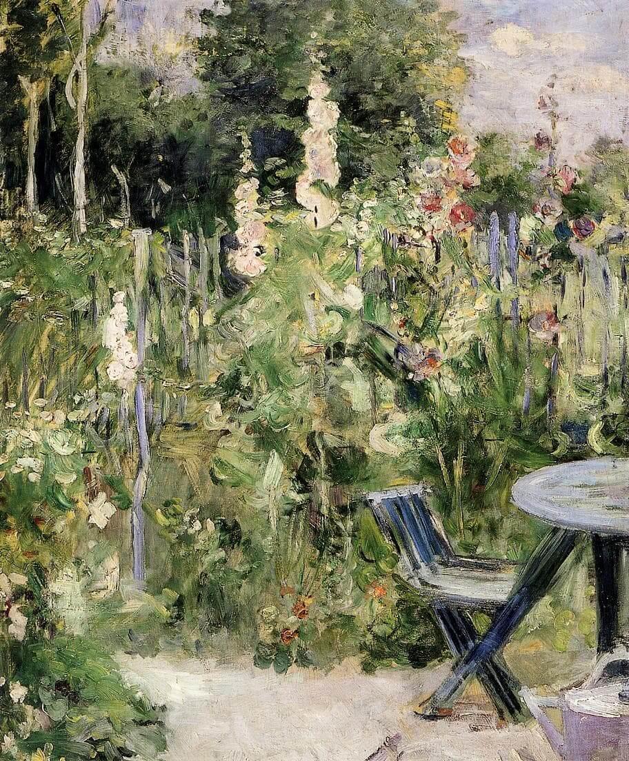 """""""Nalbe de grădină"""" de Berthe Morisot"""
